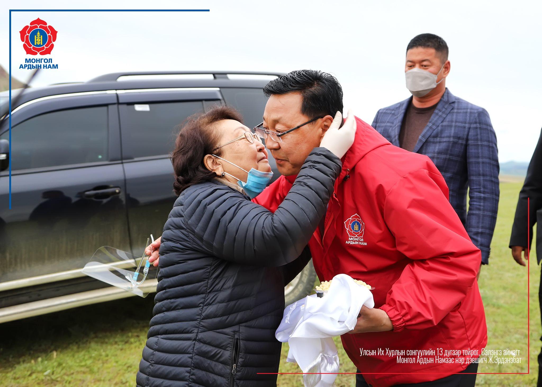 Сэлэнгэ аймгийн Мандал сумын иргэд сонгогчидтой уулзлаа